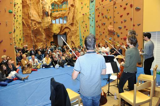 Concert du Quatuor de l'Orchestre des Pays de Savoie