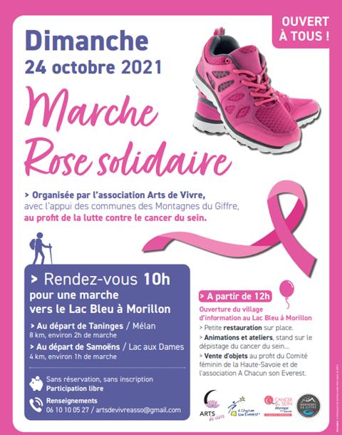 Marche rose organisée par l