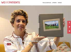 We are patients - Ghislaine